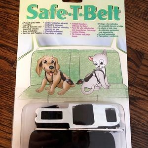 NEW! Small Animal Safe-T-Belt Car Safety Strap